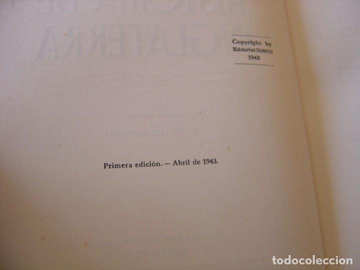 Libros de segunda mano: HISTORIA DE INGLATERRA. ANDRÉ MAUROIS. EDITORIAL SURCO. 1ª EDICIÓN 1943 - Foto 4 - 220671882