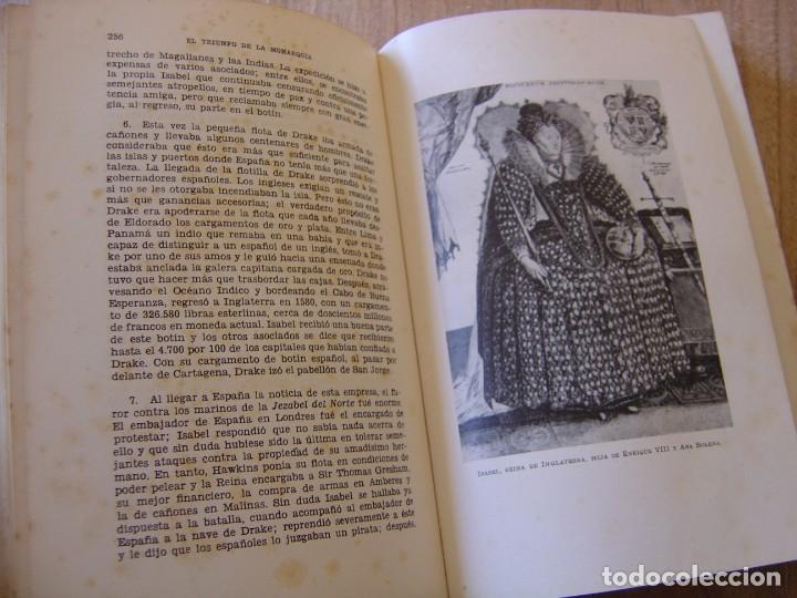 Libros de segunda mano: HISTORIA DE INGLATERRA. ANDRÉ MAUROIS. EDITORIAL SURCO. 1ª EDICIÓN 1943 - Foto 7 - 220671882