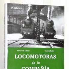 Libros de segunda mano: LOCOMOTORAS DE LA COMPAÑÍA NORTE. HISTORIA DE LA TRACCIÓN VAPOR EN ESPAÑA. TOMO II. Lote 220709755