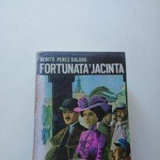 Libros de segunda mano: BENITO PEREZ GALDOS FORTUNATA Y JACINTA PRIMERA EDICION. Lote 220734678