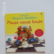 Libros de segunda mano: MOUSE MOVES HOUSE. Lote 220758591