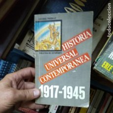 Libros de segunda mano: HISTORIA UNIVERSAL CONTEMPORÁNEA 1917-1945. L.14508-1103. Lote 220823691