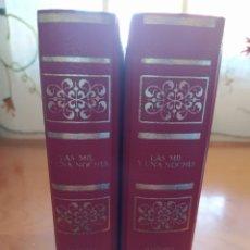 Libros de segunda mano: LAS MIL Y UNA NOCHES. ANÓNIMO. EDICIONES DALMAU SOCIAS 1980. 2 TOMOS.. Lote 220842998