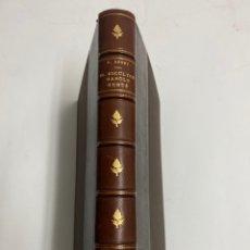 Libros de segunda mano: L-5619. EL ESCULTOR MANOLO HUGUÉ. RAFAEL BENET. EXEMPLAR NUMERAT: 89.. Lote 220850383