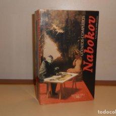 Libros de segunda mano: NABOKOV , CUENTOS COMPLETOS - ALFAGUARA, 788 PÁGINAS. Lote 220854953