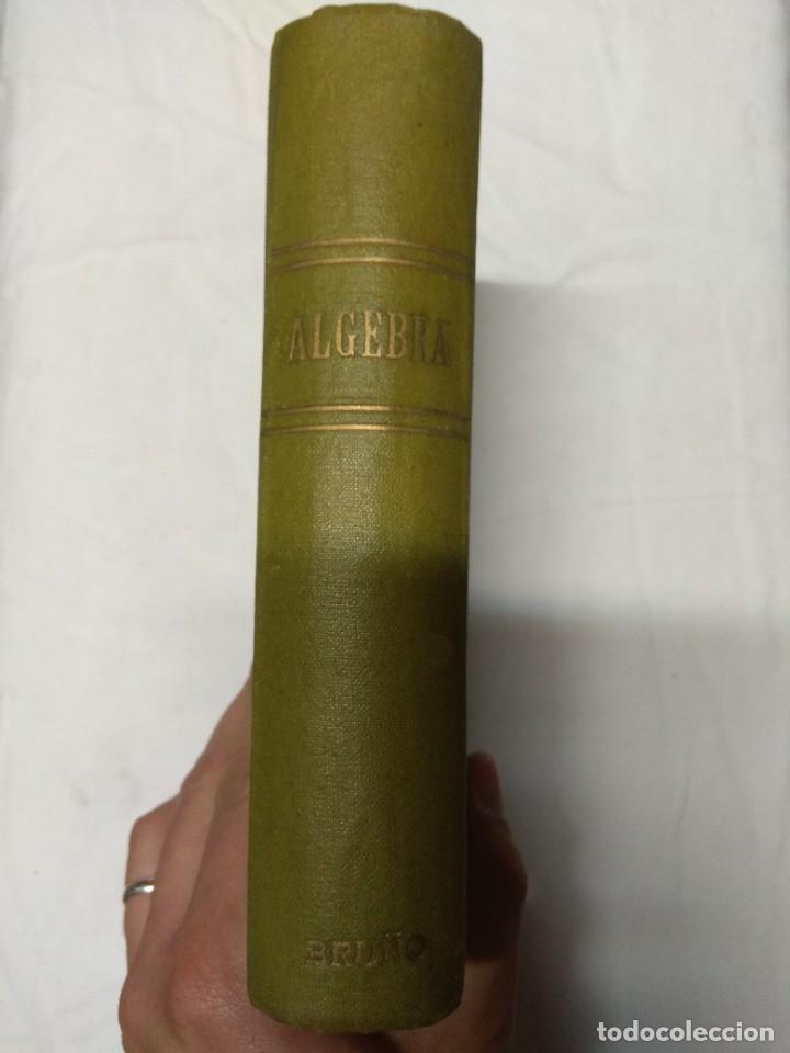 Libros de segunda mano: Elementos de álgebra. Ediciones Bruño. - Foto 2 - 220861970