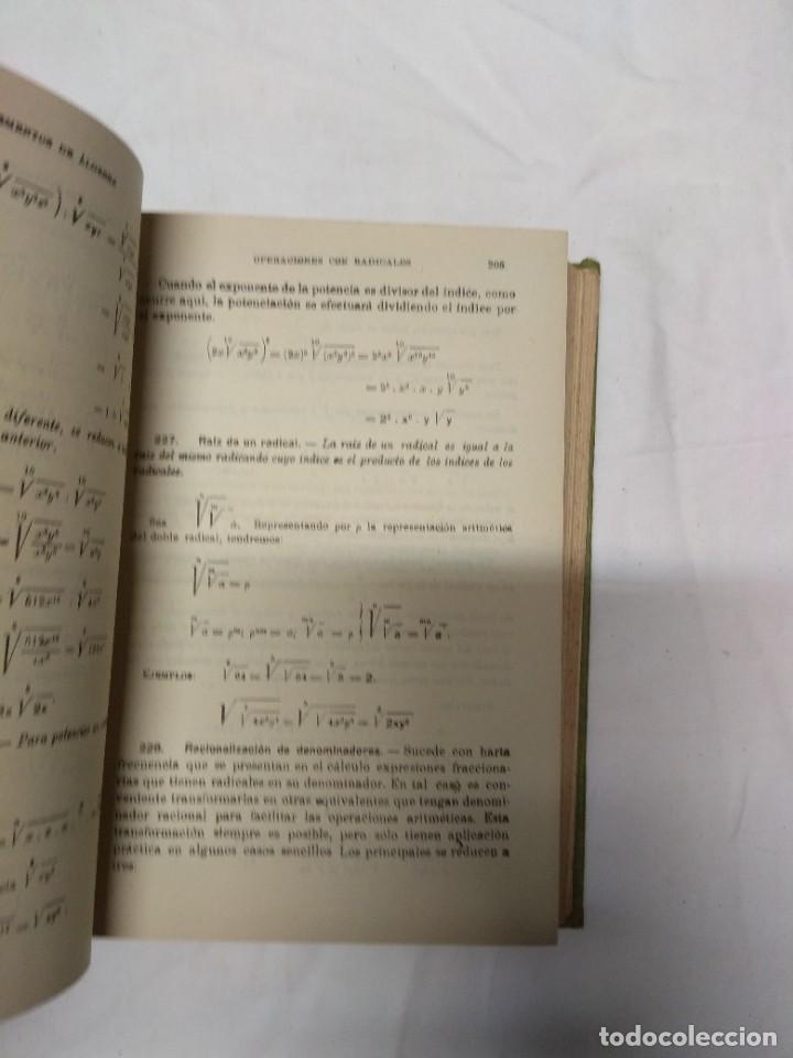 Libros de segunda mano: Elementos de álgebra. Ediciones Bruño. - Foto 3 - 220861970
