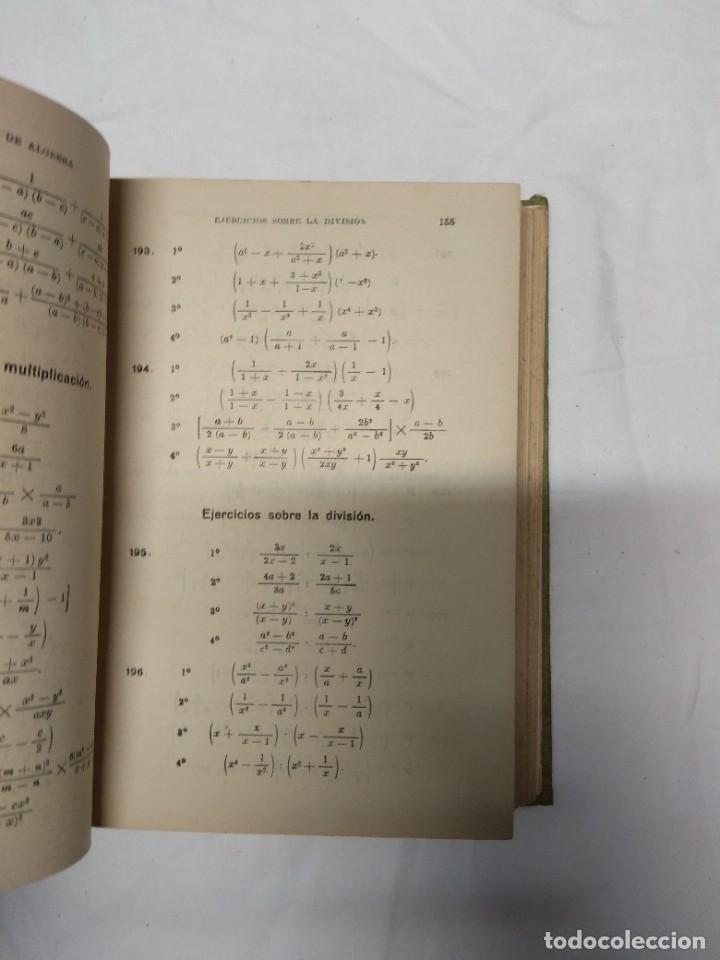 Libros de segunda mano: Elementos de álgebra. Ediciones Bruño. - Foto 4 - 220861970