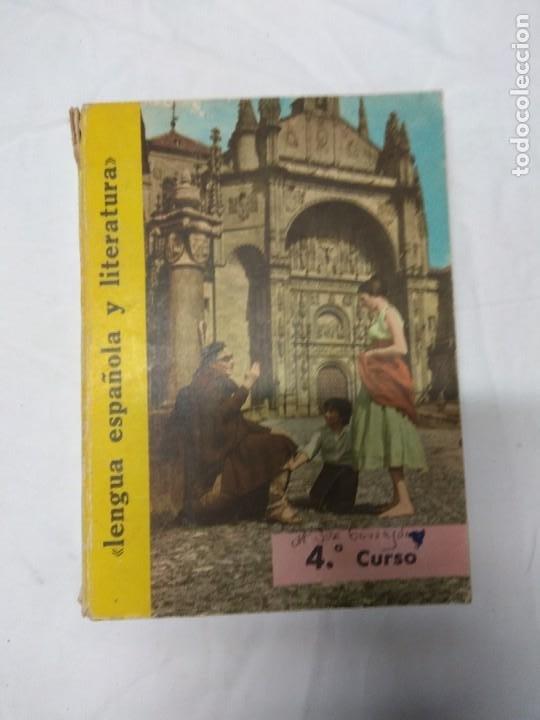 LENGUA ESPAÑOLA Y LITERATURA. 4° CURSO. LIBRERÍA S.M. (Libros de Segunda Mano - Ciencias, Manuales y Oficios - Otros)