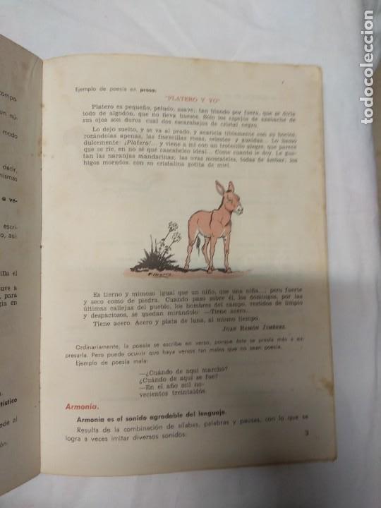 Libros de segunda mano: Lengua española y literatura. 4° curso. Librería S.M. - Foto 6 - 220862495