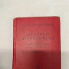 Libros de segunda mano: CÁLCULO DIFERENCIAL. CARLOS MATAIX ARACIL. PRIMERA EDICIÓN.. Lote 220902753