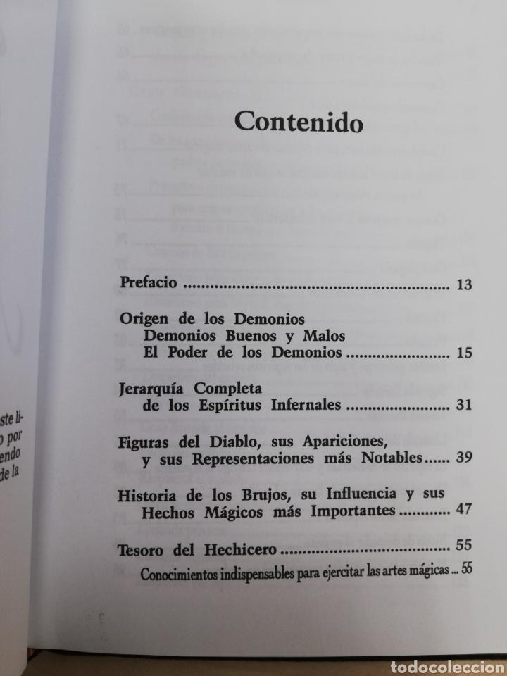 Libros de segunda mano: EL LIBRO DE LA MAGIA ROJA,- SECRETOS DE SALOMON - EN TERCIOPELO NEGRO - Foto 3 - 172802310