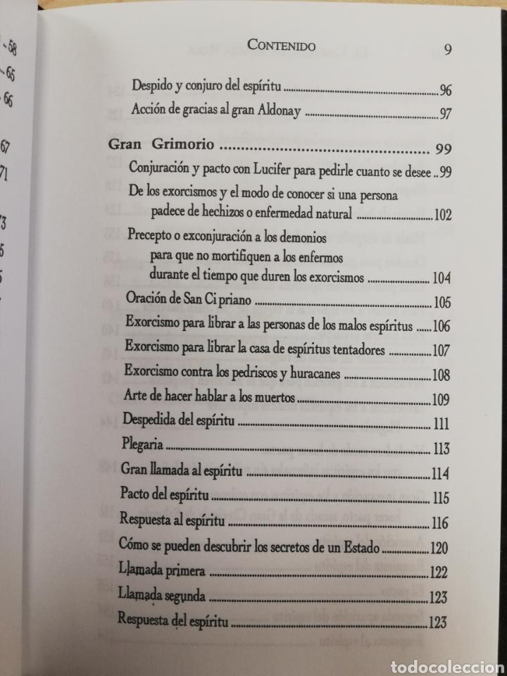 Libros de segunda mano: EL LIBRO DE LA MAGIA ROJA,- SECRETOS DE SALOMON - EN TERCIOPELO NEGRO - Foto 5 - 172802310