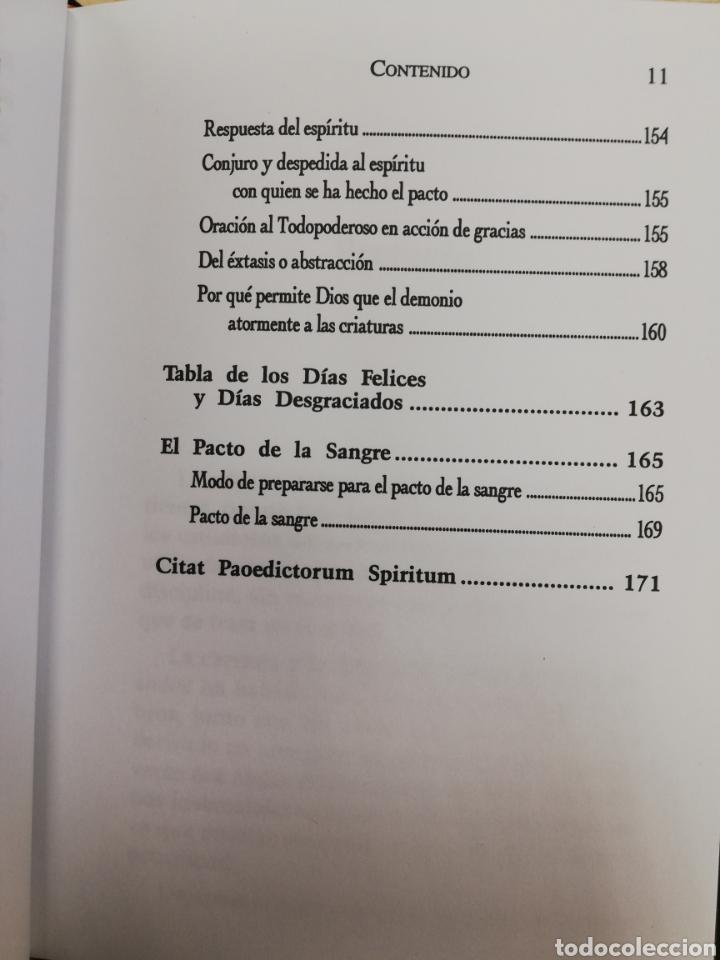 Libros de segunda mano: EL LIBRO DE LA MAGIA ROJA,- SECRETOS DE SALOMON - EN TERCIOPELO NEGRO - Foto 7 - 172802310