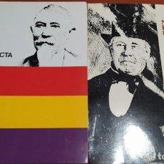 Libros de segunda mano: SABADELL, INFORME DE L'OPOSICIÓ. ANEX PER A LA HISTÒRIA DE SABADELL (DOS VOLÚMENES). Lote 220978851