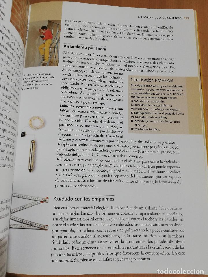 Libros de segunda mano: PEQUEÑAS REPARACIONES. ELECTRICIDAD, FONTANERÍA, AISLAMIENTO Y CALEFACCIÓN (LAROUSSE 100% PRÁCTICO) - Foto 5 - 221000056