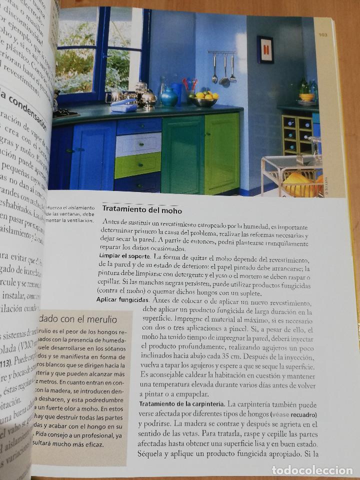 Libros de segunda mano: PEQUEÑAS REPARACIONES. ELECTRICIDAD, FONTANERÍA, AISLAMIENTO Y CALEFACCIÓN (LAROUSSE 100% PRÁCTICO) - Foto 7 - 221000056