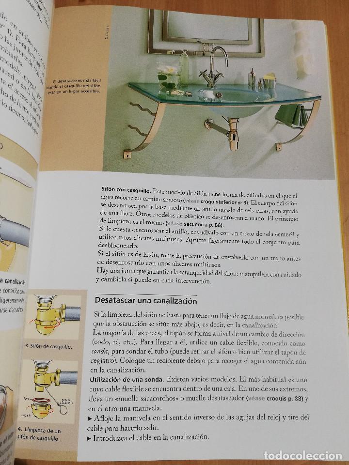 Libros de segunda mano: PEQUEÑAS REPARACIONES. ELECTRICIDAD, FONTANERÍA, AISLAMIENTO Y CALEFACCIÓN (LAROUSSE 100% PRÁCTICO) - Foto 8 - 221000056