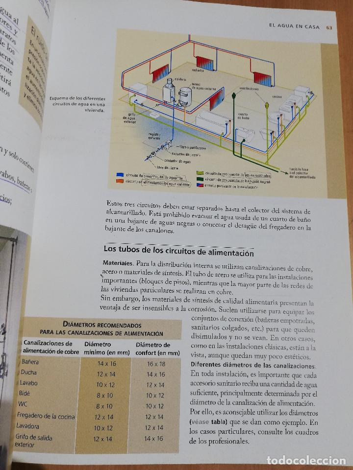 Libros de segunda mano: PEQUEÑAS REPARACIONES. ELECTRICIDAD, FONTANERÍA, AISLAMIENTO Y CALEFACCIÓN (LAROUSSE 100% PRÁCTICO) - Foto 9 - 221000056