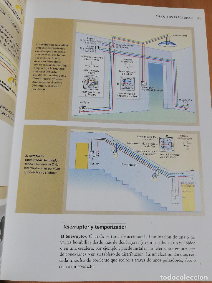 Libros de segunda mano: PEQUEÑAS REPARACIONES. ELECTRICIDAD, FONTANERÍA, AISLAMIENTO Y CALEFACCIÓN (LAROUSSE 100% PRÁCTICO) - Foto 10 - 221000056
