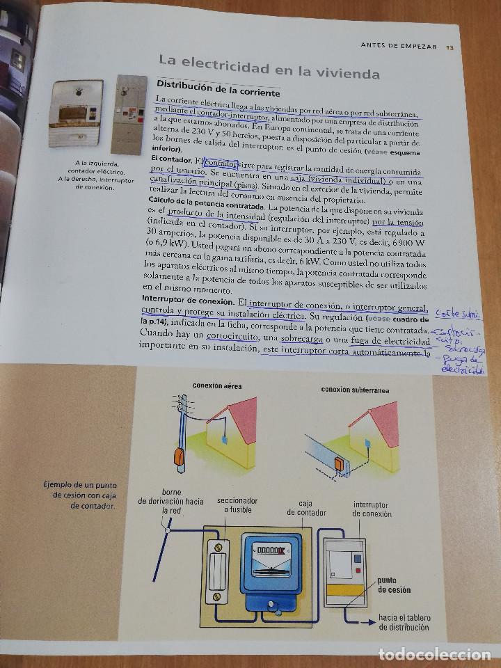 Libros de segunda mano: PEQUEÑAS REPARACIONES. ELECTRICIDAD, FONTANERÍA, AISLAMIENTO Y CALEFACCIÓN (LAROUSSE 100% PRÁCTICO) - Foto 11 - 221000056