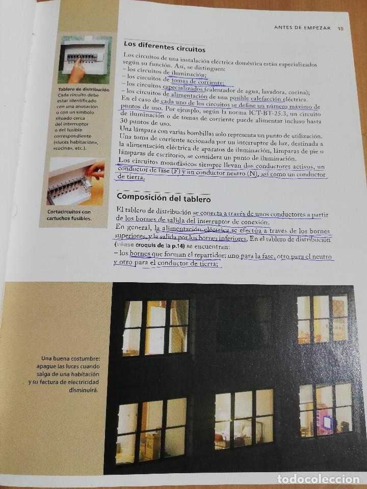 Libros de segunda mano: PEQUEÑAS REPARACIONES. ELECTRICIDAD, FONTANERÍA, AISLAMIENTO Y CALEFACCIÓN (LAROUSSE 100% PRÁCTICO) - Foto 12 - 221000056