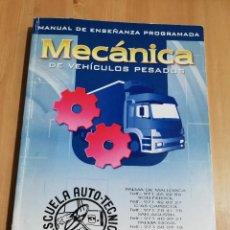 Libros de segunda mano: MANUAL DE MECÁNICA DE VEHÍCULOS PESADOS (EDITORIAL PONS). Lote 221000192