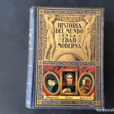 Libros de segunda mano: HISTORIA DEL MUNDO EN LA EDAD MODERNA. TOMO I. EL RENACIMIENTO. Lote 221119001