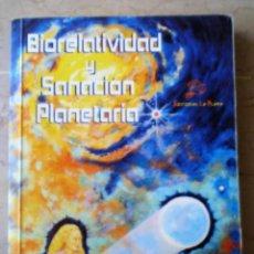 Livres d'occasion: BIORELATIVIDAD Y SANACION PLANETARIA - DAVID K. MILLER. Lote 221302516