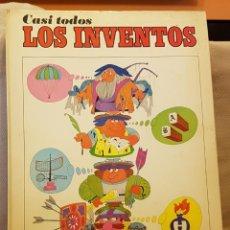 Livres d'occasion: CASI TODOS LOS INVENTOS. Lote 221338258