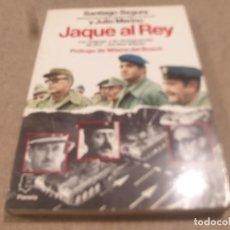 Libros de segunda mano: JAQUE AL REY.....SANTIAGO SEGURA Y JULIO MERINO...1983.... Lote 221380461