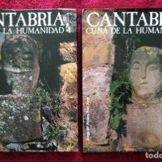 Libros de segunda mano: CANTABRIA, CUNA DE LA HUMANIDAD -- JOSÉ Mª RIVERO SAN JOSÉ ... 2 VOL. ... EJEMPLAR NUMERADO. Lote 221382337