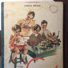 Libros de segunda mano: SENCILLA HISTORIA DEL CAFÉ - EMBAJADA BRASIL - COSTA NEVES - 1941 - ILUSTRACIONES A COLOR. Lote 221406913