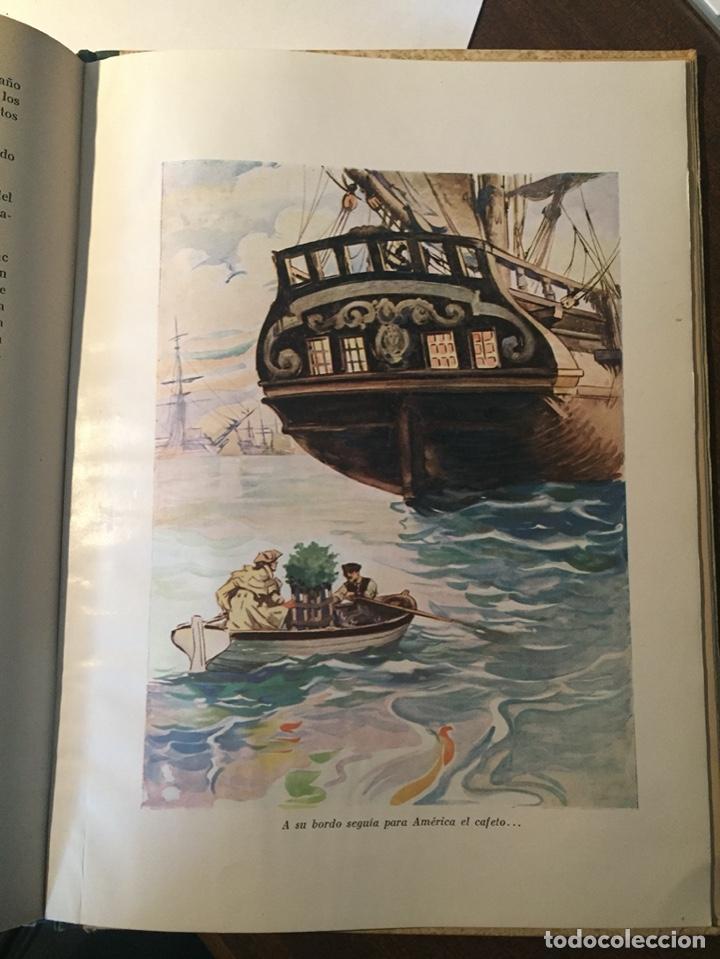 Libros de segunda mano: SENCILLA HISTORIA DEL CAFÉ - EMBAJADA BRASIL - COSTA NEVES - 1941 - ILUSTRACIONES A COLOR - Foto 3 - 221406913