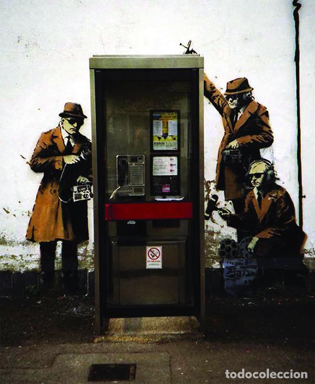 Libros de segunda mano: WHERE`S BANKSY ? XAVIER TAPIES ED GRAFFITO BOOKS LONDON 2016 1ª EDICIÓN OBRAS BANSKY 2002-2016 - Foto 12 - 221411656