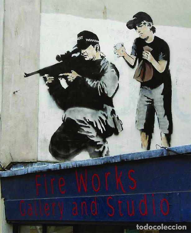 Libros de segunda mano: WHERE`S BANKSY ? XAVIER TAPIES ED GRAFFITO BOOKS LONDON 2016 1ª EDICIÓN OBRAS BANSKY 2002-2016 - Foto 21 - 221411656