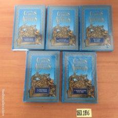 Libros de segunda mano: GRANDES CLASICOS DE LA NOVELA DE AVENTURAS. Lote 221416552
