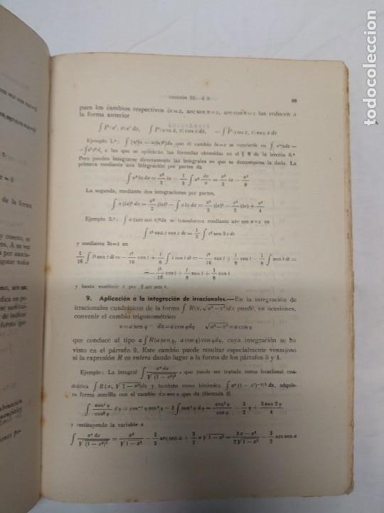 Libros de segunda mano: Curso teórico-práctico de cálculo integral aplicado a la física y técnica. P. Puig Adam. - Foto 4 - 221428243