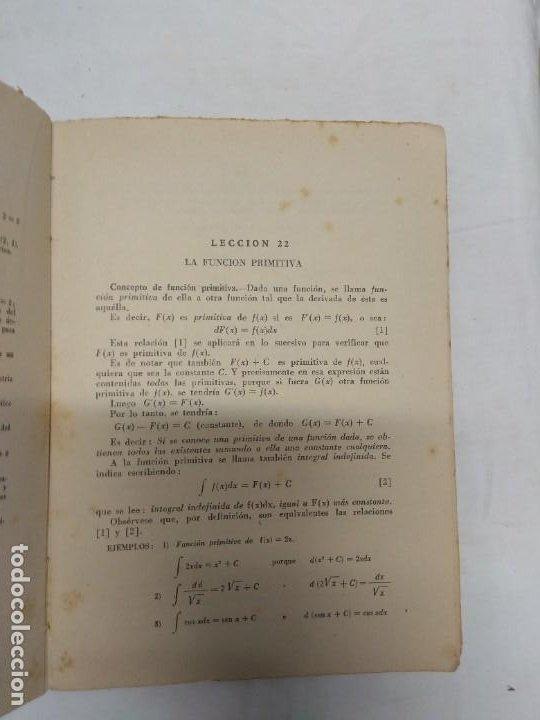 Libros de segunda mano: Matemáticas. Sexto curso del bachillerato. Plan 1957 segunda edición. E. P. Carranza. - Foto 3 - 221432615