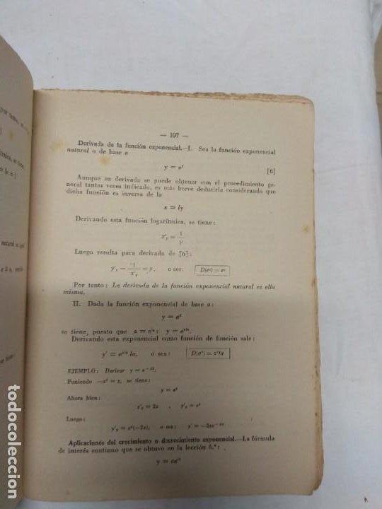 Libros de segunda mano: Matemáticas. Sexto curso del bachillerato. Plan 1957 segunda edición. E. P. Carranza. - Foto 4 - 221432615