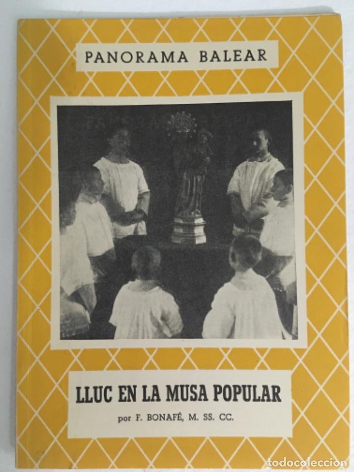 LLUC EN LA MUSA POPULAR, F BONAFE, PANORAMA BALEAR 84 (Libros de Segunda Mano - Historia - Otros)