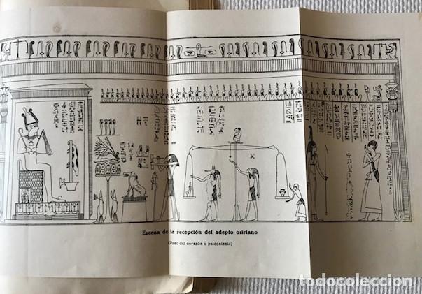 Libros de segunda mano: [Antiguo Egipto:] Durville, Henri: Los misterios iniciaticos. Revelaciones del ocultismo egipcio. - Foto 3 - 221476896