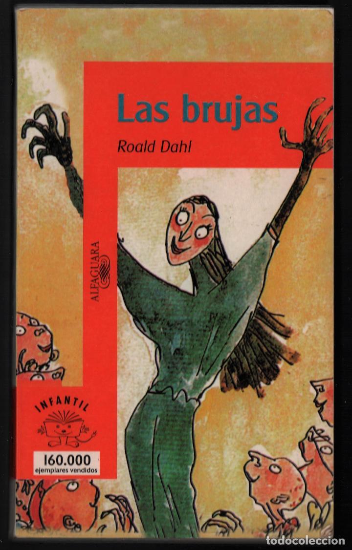 ROALD DAHL LAS BRUJAS ALFAGUARA 1999 LITERATURA JUVENIL ILUSTR QUENTIN BLAKE TRADUC MARIBEL DE JUAN (Libros de Segunda Mano - Literatura Infantil y Juvenil - Otros)