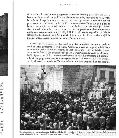 Libros de segunda mano: X4016 - HOSPITAL CASA ASILO DE A GUARDA (1918-2018). HISTORIA. PONTEVEDRA. GALICIA. NUEVO. - Foto 3 - 221496447