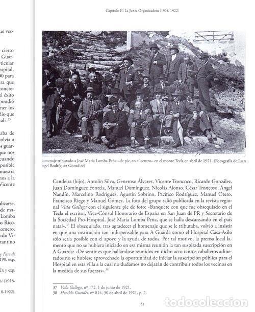 Libros de segunda mano: X4016 - HOSPITAL CASA ASILO DE A GUARDA (1918-2018). HISTORIA. PONTEVEDRA. GALICIA. NUEVO. - Foto 4 - 221496447