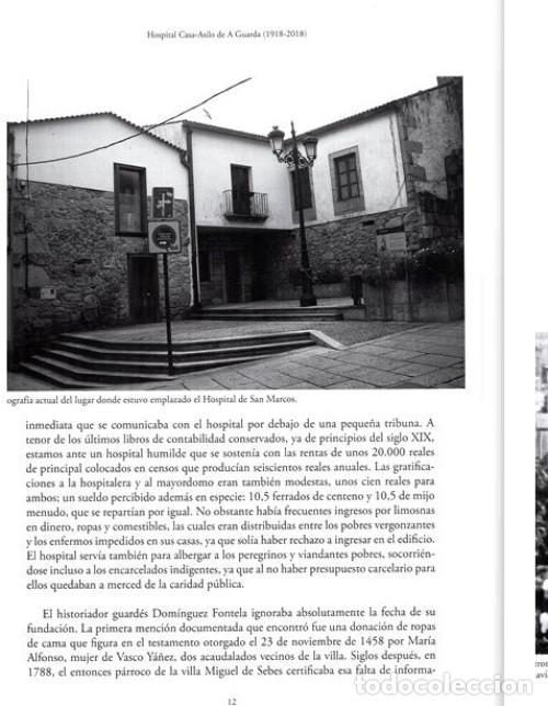 Libros de segunda mano: X4016 - HOSPITAL CASA ASILO DE A GUARDA (1918-2018). HISTORIA. PONTEVEDRA. GALICIA. NUEVO. - Foto 6 - 221496447