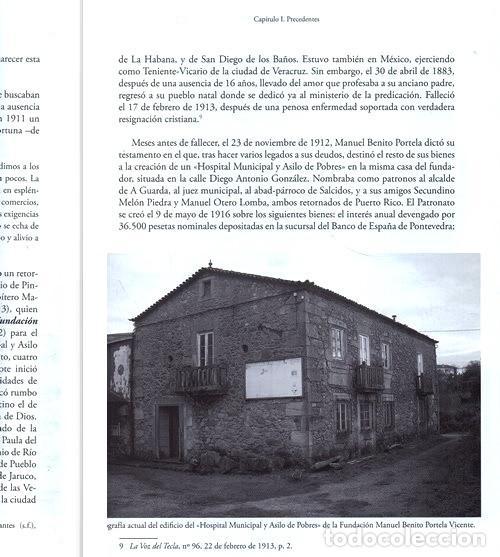 Libros de segunda mano: X4016 - HOSPITAL CASA ASILO DE A GUARDA (1918-2018). HISTORIA. PONTEVEDRA. GALICIA. NUEVO. - Foto 8 - 221496447