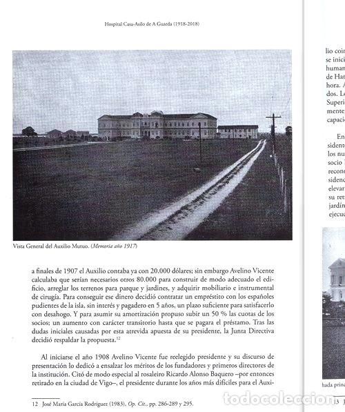 Libros de segunda mano: X4016 - HOSPITAL CASA ASILO DE A GUARDA (1918-2018). HISTORIA. PONTEVEDRA. GALICIA. NUEVO. - Foto 9 - 221496447