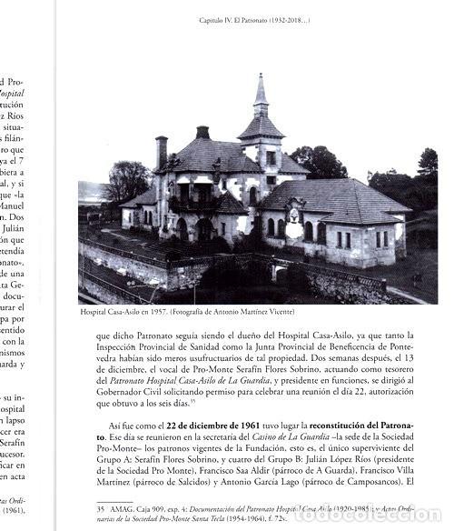 Libros de segunda mano: X4016 - HOSPITAL CASA ASILO DE A GUARDA (1918-2018). HISTORIA. PONTEVEDRA. GALICIA. NUEVO. - Foto 11 - 221496447