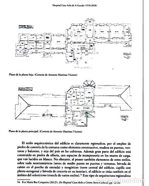 Libros de segunda mano: X4016 - HOSPITAL CASA ASILO DE A GUARDA (1918-2018). HISTORIA. PONTEVEDRA. GALICIA. NUEVO. - Foto 13 - 221496447